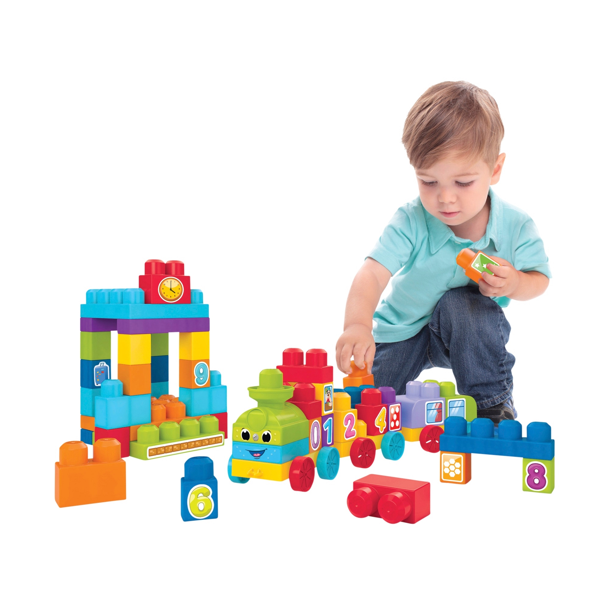 Mega Bloks 123 Learning Train