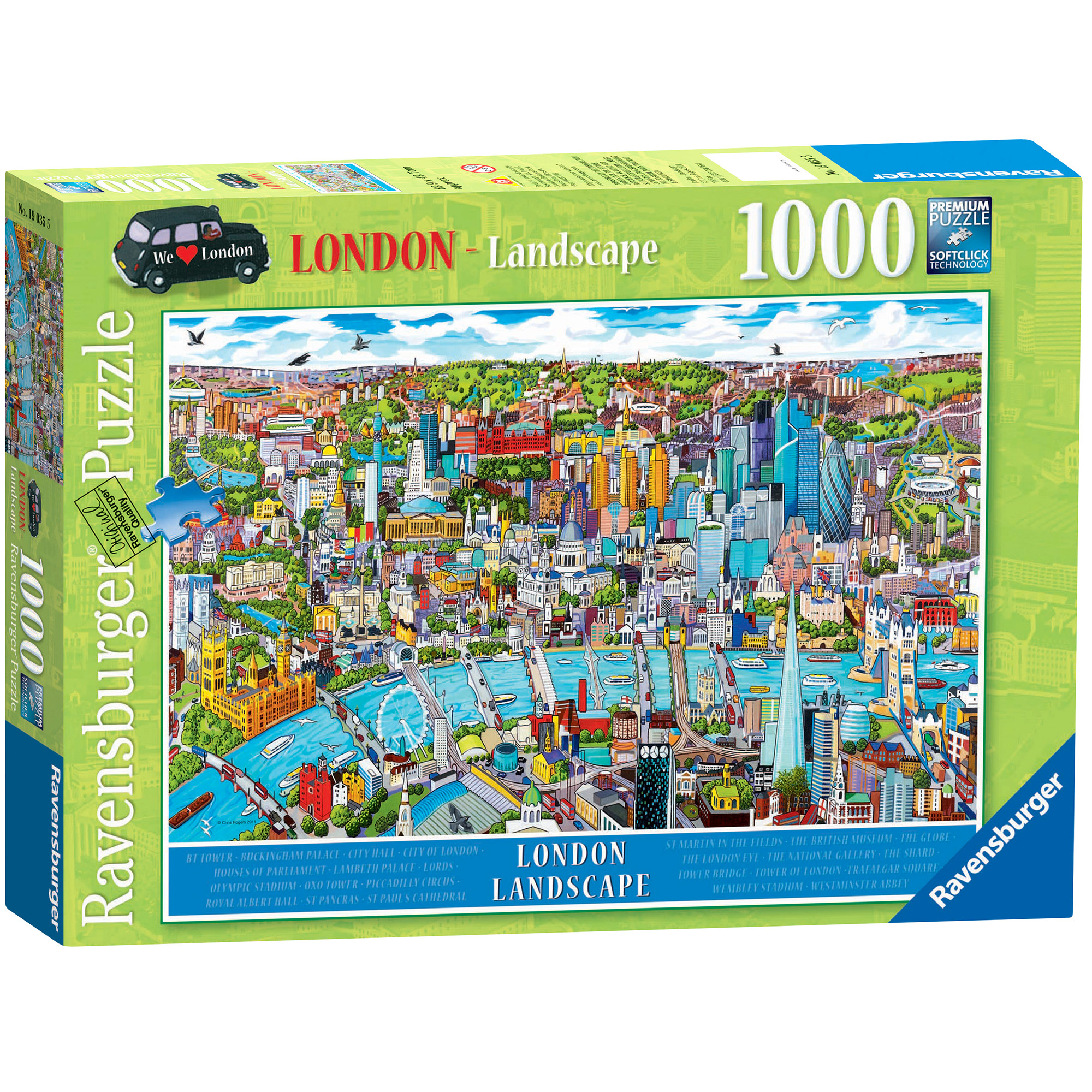 Ravensburger London Landscape 1000 Piece Puzzle