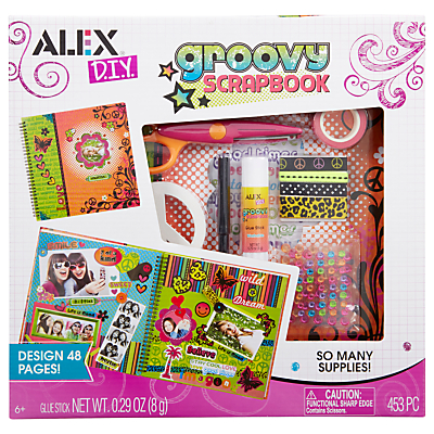 ALEX DIY Groovy Scrapbook