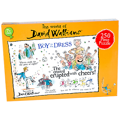 David Walliams Boy in the Dress Jigsaw Puzzle, 250 Pieces